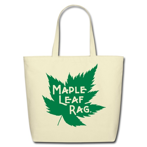 Joplin's Maple Leaf Bag - Eco-Friendly Cotton Tote