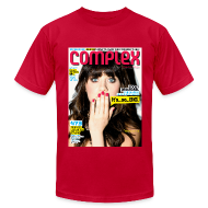 T-Shirts ~ Men's T-Shirt by American Apparel ~ Zooey Deschanel Cover