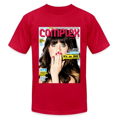 Zooey Deschanel Cover - Men's  Jersey T-Shirt
