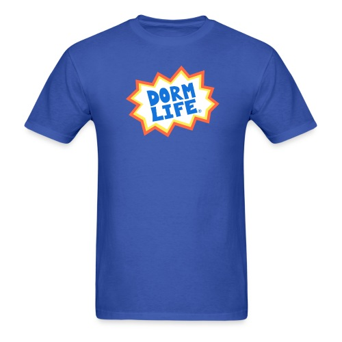 Dorm Life Logo  - Men's T-Shirt
