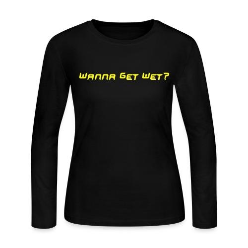 Women's Long Sleeve Tee - Women's Long Sleeve Jersey T-Shirt