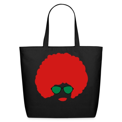 Funky Face - Eco-Friendly Cotton Tote