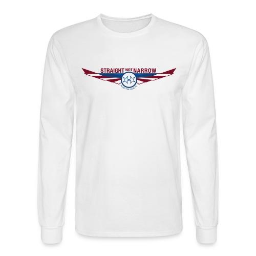 White Longsleeved T - Men's Long Sleeve T-Shirt