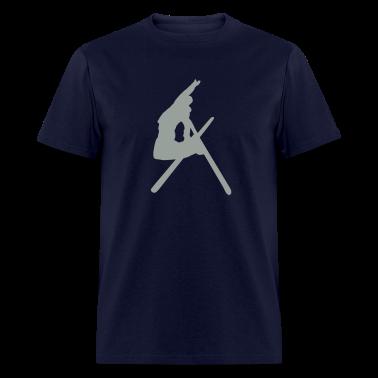 Navy Ski T-Shirts