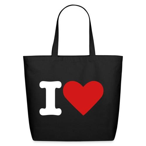 T-shirt : I LOVE IRAN (BB) - Eco-Friendly Cotton Tote