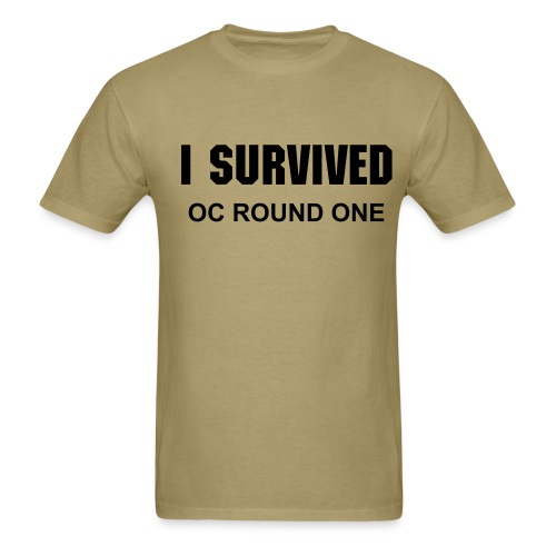 I Survived Round One! - Men's T-Shirt