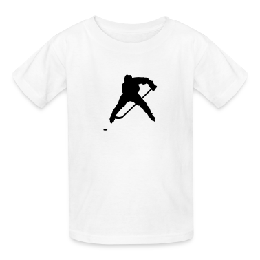 White hockey Kids Shirts