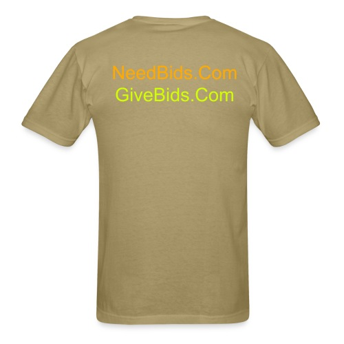 NeedBids/GiveBids.Com Men's Lightweight Cotton T-shirt - Men's T-Shirt