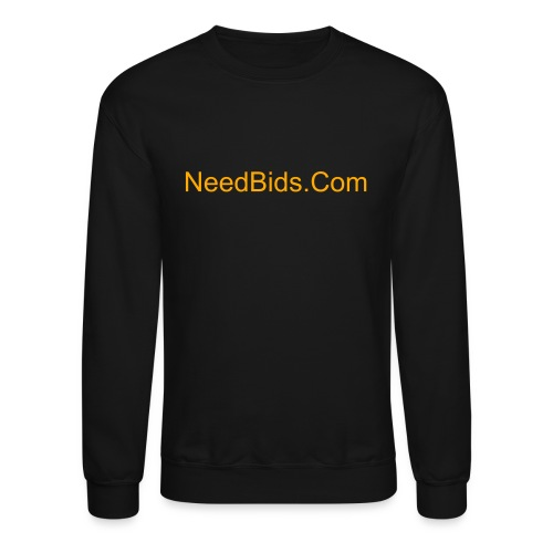 NeedBids/GiveBids.Com Men's Crew Sweat Shirt  - Crewneck Sweatshirt
