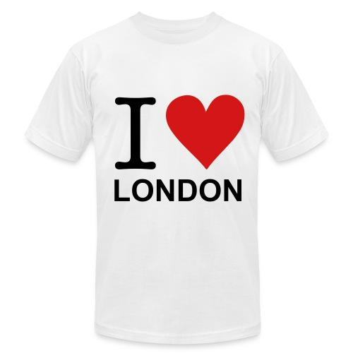 I Heart London T Shirt - Men's Fine Jersey T-Shirt