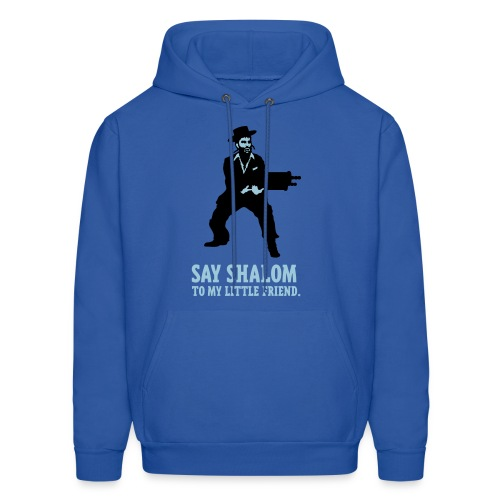 Say Shalom - Hooded Sweatshirt - Men's Hoodie