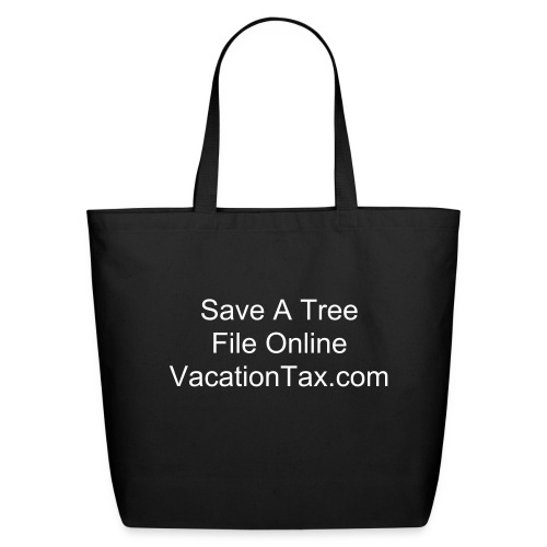 Going Shopping? Go Green! - Eco-Friendly Cotton Tote