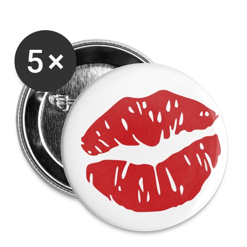 J.E.T.F Small Badges Kiss - Small Buttons