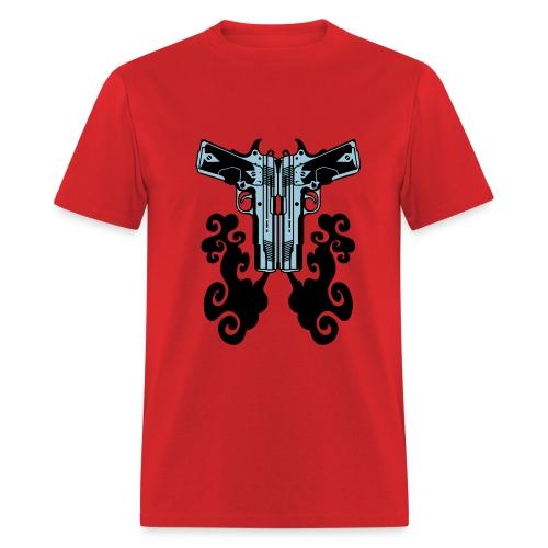 Dual .45 Bullhead - Men's T-Shirt