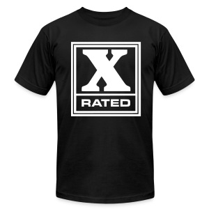Mens X-Rated Tee - Men's Fine Jersey T-Shirt