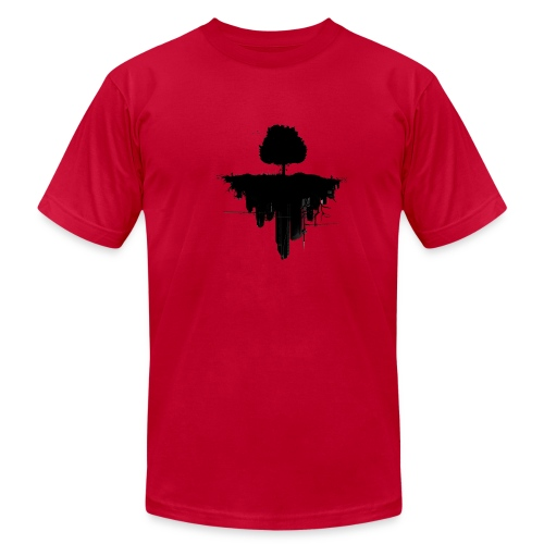 tree urban flip - Men's Fine Jersey T-Shirt