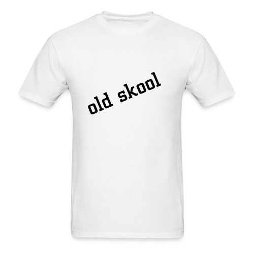 old skool tee - Men's T-Shirt