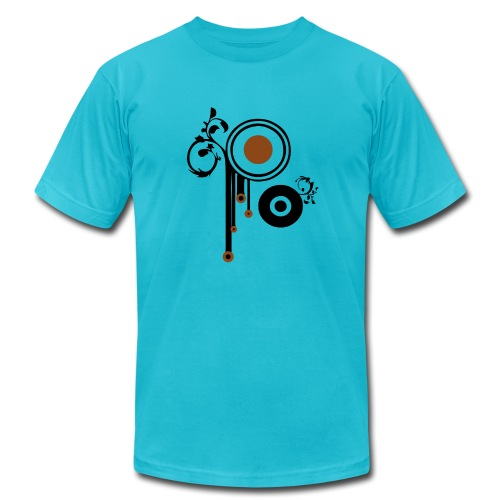 retro targets - Men's Fine Jersey T-Shirt