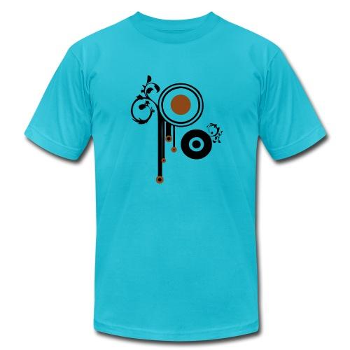 retro targets - Men's Fine Jersey T-Shirt
