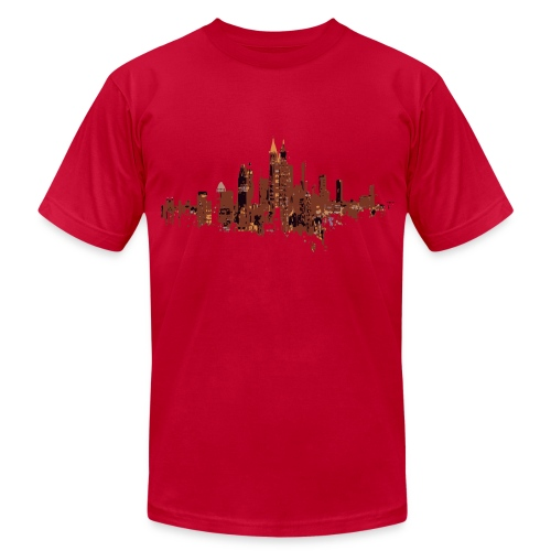 atlanta skyline - Men's Fine Jersey T-Shirt