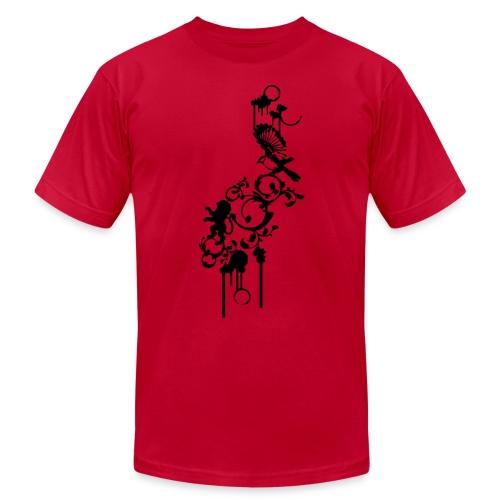 brown birds - Men's Fine Jersey T-Shirt