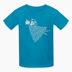 Orange angel Kids Shirts