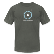 T-Shirts ~ Men's T-Shirt by American Apparel ~ Hollow Earth [hollow]