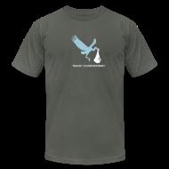 T-Shirts ~ Men's T-Shirt by American Apparel ~ Stork Birth [stork]