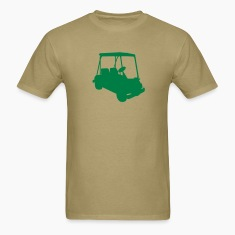 Khaki Golf cart T-Shirts