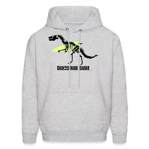 Dinosaur Surf Hoodie - Dark Print - Men's Hoodie