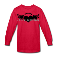 Kids' Shirts ~ Kids' Long Sleeve T-Shirt ~ Teenthing by PiekitShop
