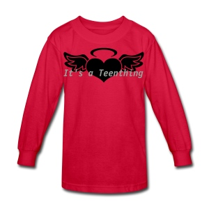 Teenthing by PiekitShop - Kids' Long Sleeve T-Shirt