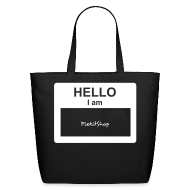 Bags & backpacks ~ Eco-Friendly Cotton Tote ~ PS Entrance by PiekitShop