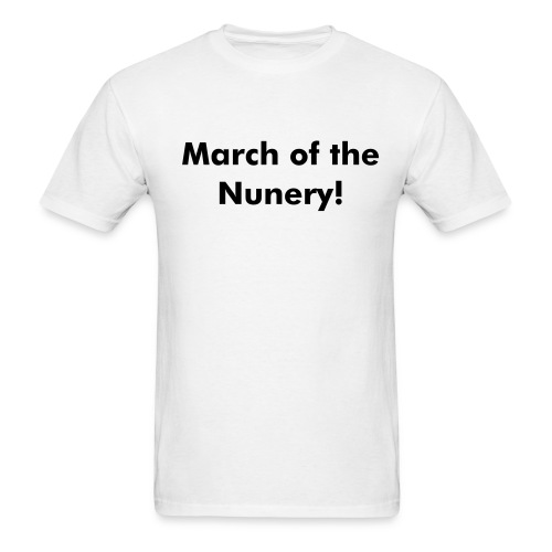 March of the Nunery! - Men's T-Shirt