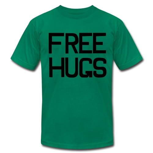 Free Hugs?? - Men's Fine Jersey T-Shirt