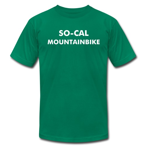 SO CAL MOUNTAINBIKE - Men's  Jersey T-Shirt