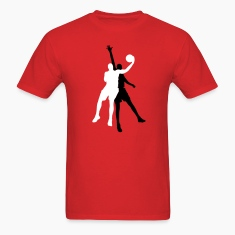 Red basketball players T-Shirts