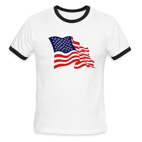 Men's lighweight t-shirt USA - Men's Ringer T-Shirt