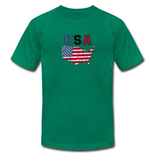 Men's slimfit t-shirt USA - Men's Fine Jersey T-Shirt