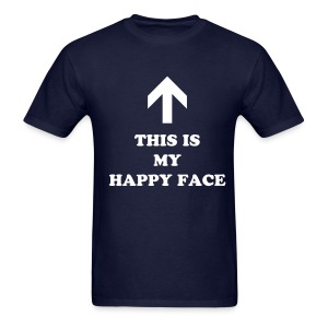 Happy Face Men's Tee - Men's T-Shirt