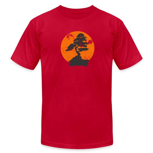 Bomsai Tree Faded Design - Men's Fine Jersey T-Shirt