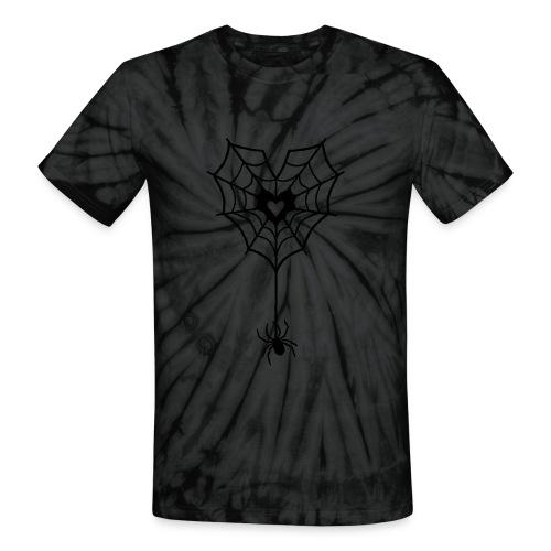 Spider Love - Unisex Tie Dye T-Shirt