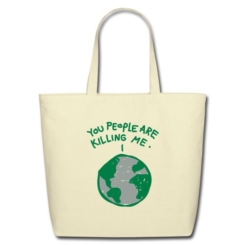 short sleeve T- shirt - Eco-Friendly Cotton Tote