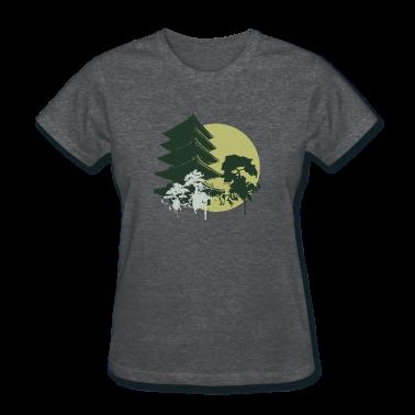 Deep heather fashion designer graphic Women's T-shirts
