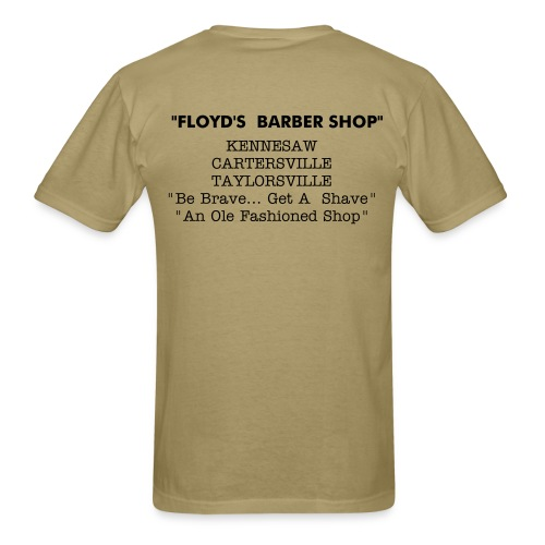 FLOYDS unisex t's  retail or employees - Men's T-Shirt
