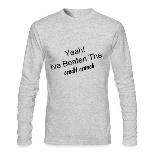 Credit crunch  long sleeve tee - Men's Long Sleeve T-Shirt by Next Level