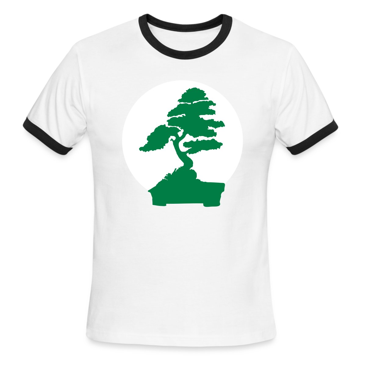 Karate Kid Bonsai Tree 2 Color Flex T Shirt Spreadshirt