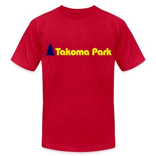 Takoma Park Green Mens - Men's Fine Jersey T-Shirt
