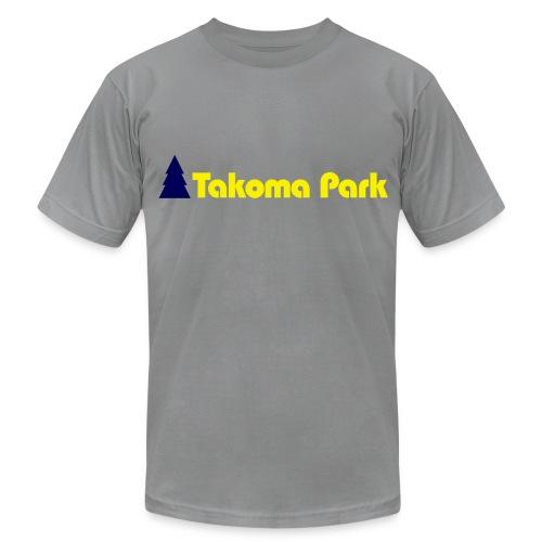 Takoma Park Grey Mens - Men's Fine Jersey T-Shirt