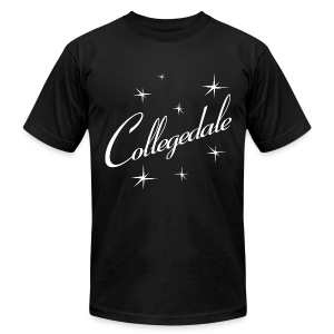 Collegedale Black Mens - Men's T-Shirt by American Apparel